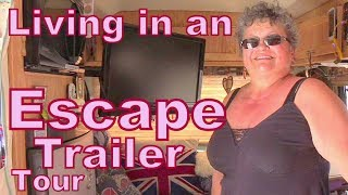 Tour of an Escape Fiberglass Trailer