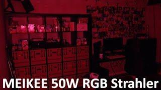 MEIKEE 50W RGB Strahler/Fluter | NikuKashi Technik Review