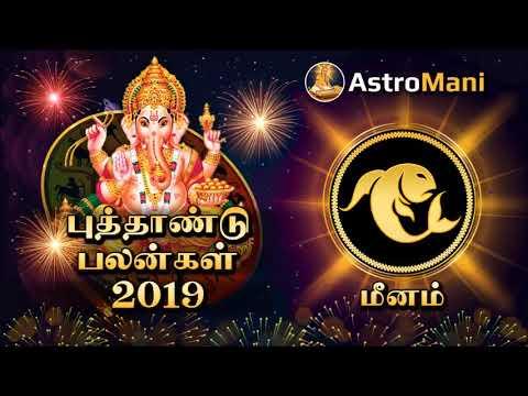 மீனம் ராசி 2019 புத்தாண்டு பலன்கள் | Meenam Rasi 2019 New Year Rasi Palan | Astro Mani