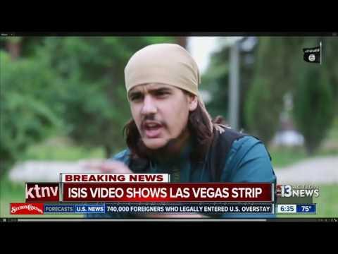 ISIS video shows Las Vegas Strip