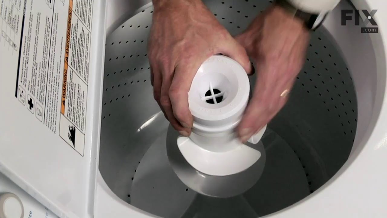 Replacing your Whirlpool Washer Agitator Cap Barrier with Seal