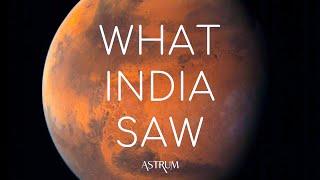 What did India's Mars Orbiter Mission see over Mars? MOM Mangalyaan ISRO
