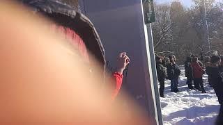 С близи! Взрыв башни в Екатеринбурге.