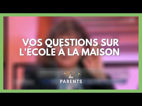 L'école à la maison : Pour qui ? Pourquoi ? À vos questions ! - La Maison des parents #LMDP