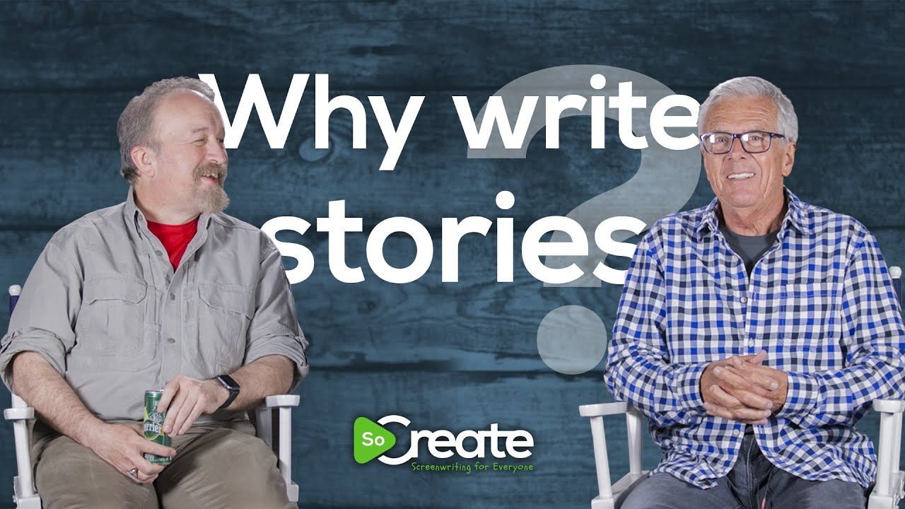 Why Write a Screenplay? Screenwriter Peter Dunne and Writer/Game Designer Michael Stackpole Answer