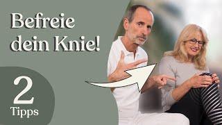 2 Übungen Bei Knieschmerzen, Die Du Unbedingt Ausprobieren Solltest!