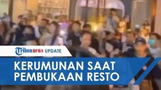 Viral Video Kerumunan saat Acara Pembukaan Restoran di Surabaya, dr Tirta: Kaget Campur Sedih Saya