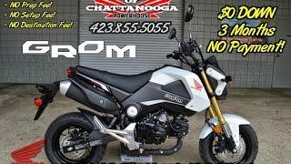 White 2015 Honda Grom For Sale - Chattanooga TN / GA / AL area Motorcycle Dealer : Honda of Chatt