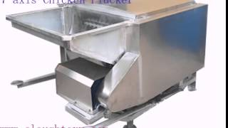 Gambar cover Drum Chicken Plucker, 7-axis Poultry Plucker,A-shaped Poultry Plucker Machine,,