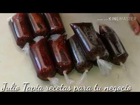 Bolis de Tamarindo natural y Tamarindo con chamoy pulparindo
