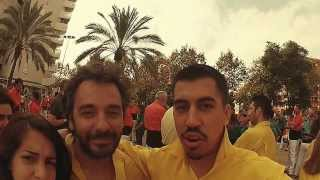 preview picture of video 'Vlog (VideoBlog) Casteller @ElsGrocs a L'Hospitalet 20 Octubre 2013'