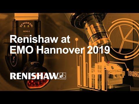 Renishaw auf der EMO Hannover 2019