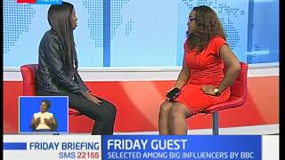 Adelle Onyango on her tatoos ; Friday briefing