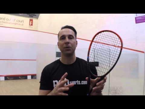 HEAD Graphene XT Xenon 135 squash racket 2016 review by PDHSports.com