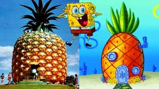 10 Cartoon Houses You Won't Believe EXIST in Real Life!