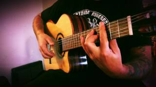 Barcelona Nights (Ottmar Liebert) Solo Flamenco Guitar - Ben Woods