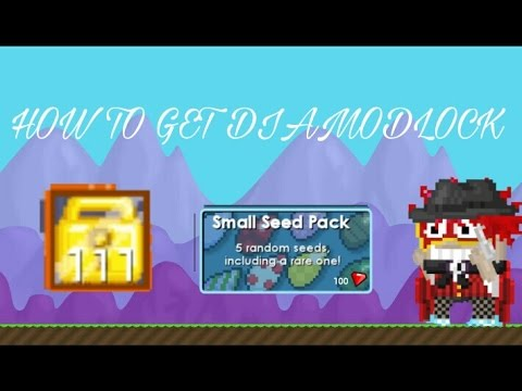 Video [GROWTOPIA] Cara mendapatkan Dl(Diamond Lock)