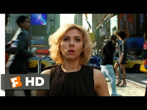 Lucy (9/10) Movie CLIP - Crossing The Spacetime Continuum (2014) HD