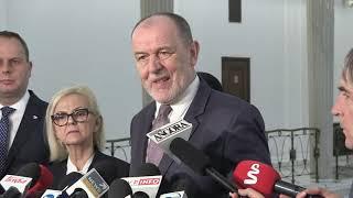 Konferencja prasowa PiS w Sejmie cz 2