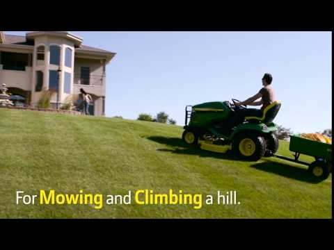 2018 John Deere X570 Lawn Tractor with 48 in. Deck in Sparks, Nevada - Video 3