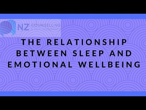 The relationship between sleep and emotional wellbeing