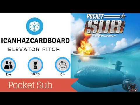 Pocket Sub Elevator Pitch
