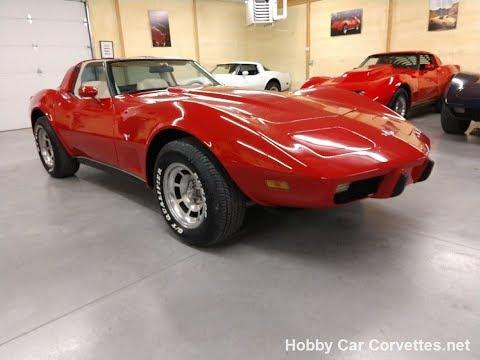1979 Red Corvette T Top Video