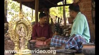 Panchaloha idols from Kunjimangalam