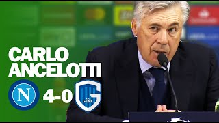 Carlo Ancelotti SACKED AFTER THIS PRESS CONFERENCE | Napoli 4-0 Genk