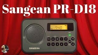 Sangean PR-D18 AM FM Stereo Portable Radio Review