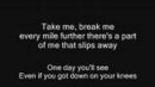 The All-American Rejects - Night Drive + Lyrics