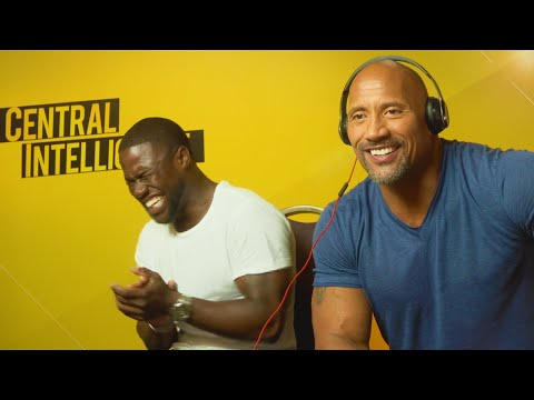 WHISPER CHALLENGE WITH KEVIN HART & THE ROCK!!! (видео)