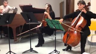 Brahms Piano Quartet Op.60 Andante