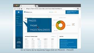 ¿Cómo realizar pagos en el portal web?