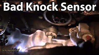 Replacing a Bad Knock Sensor P0330 Code