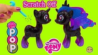 My Little Pony Pop Princess Luna Design-A-Pony Kit Scratch Off Custom Designs - Cookieswirlc