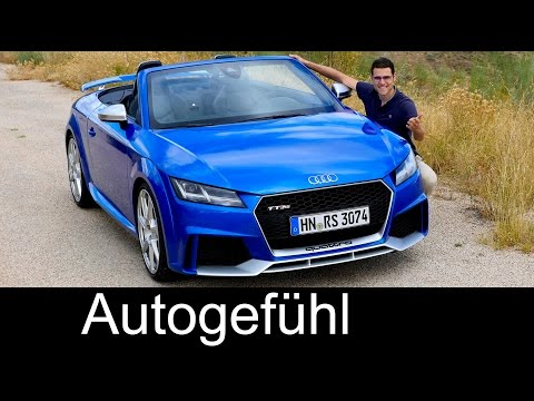 Audi TT RS Coupé & Roadster FULL REVIEW test driven 5cyl 400 hp 2017 all-new neu