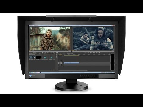 Eizo CG277 Unboxing, set up and Calibration