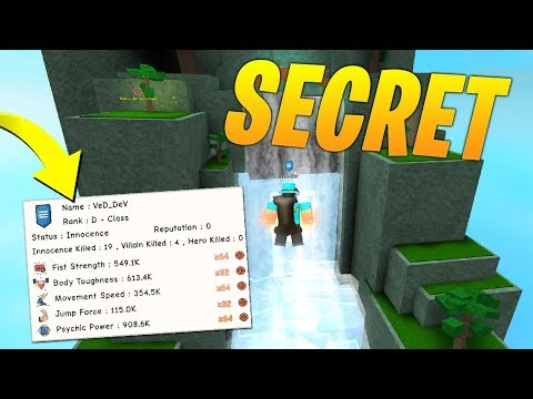 NEW SECRET TRAINING AREAS & HELLFIRE ATTACK - Roblox Super Power