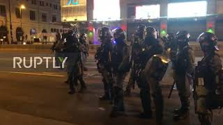 Hong Kong: Riot police patrol streets as major anti-govt protest expected