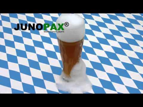 JUNOPAX - robuste, abwischbare Papiertischdecken