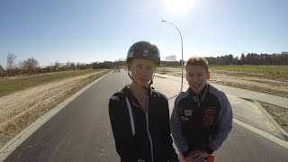 preview picture of video 'Unser Longboard Alltag :D'