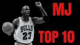 Majkl Džordan Top 10 Poteza u Celoj Karijeri