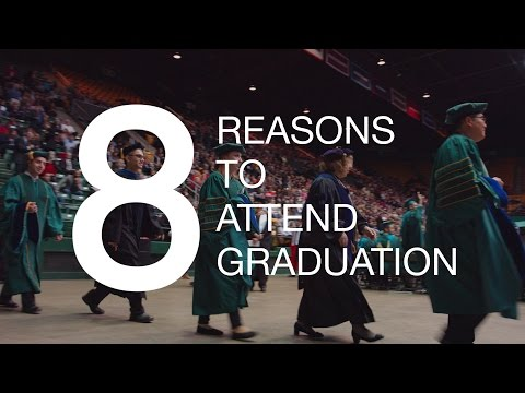 8 Reasons to Attend Mason Graduation