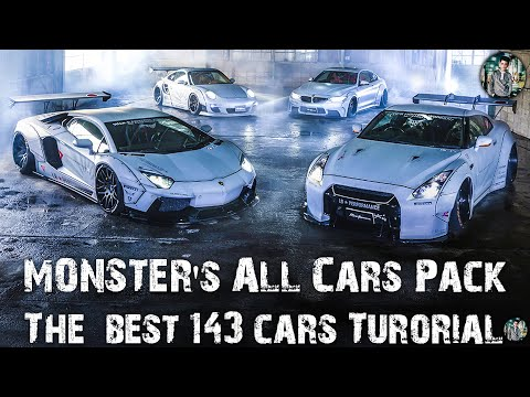 How to download and install The Best Cars Packs All Of Time (MONSTER Cars Packs) Tutorial for GTA V!