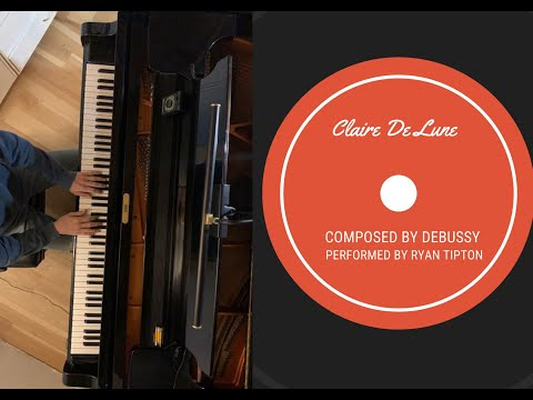 Claire de lune composed by Debussy