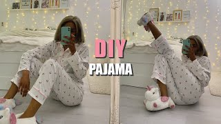 DIY PAJAMA PANTS | How To Make Pajama Pants For Beginners WITH Sewing Pattern