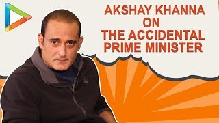 """There's No SECRET, No REVELATIONS coming out in The Accidental PM"": Akshaye Khanna"