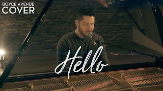 Hello - Adele (Boyce Avenue piano acoustic cover) on Spotify & iTunes
