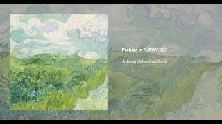 Prelude in F major, BWV 927